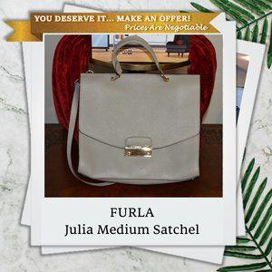 FURLA Julia Medium Top Handle Satchel